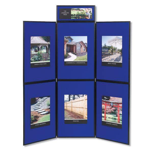 Quartet Show-It! 6-Panel Display System