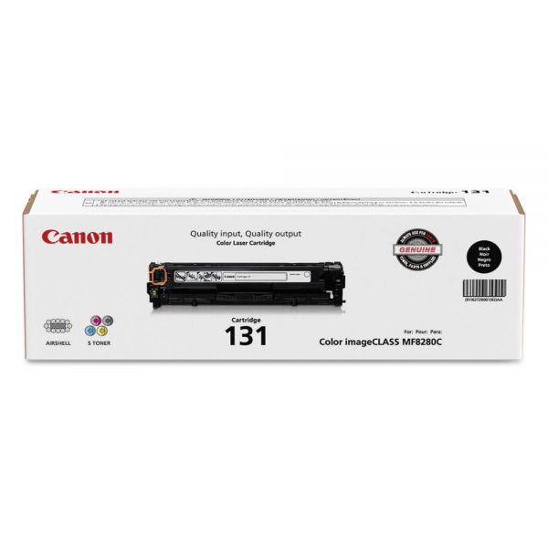 Canon 131 Black Toner Cartridge (6272B001)