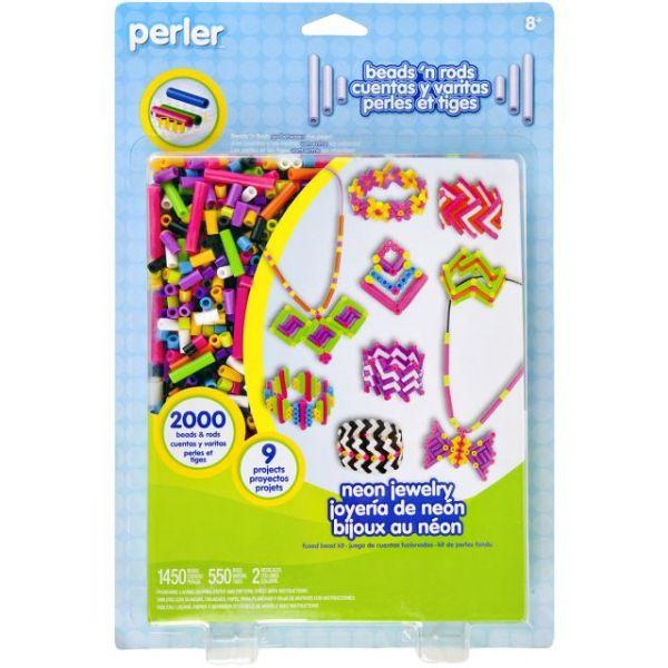 Perler Beads 'n Rods Fused Bead Kit