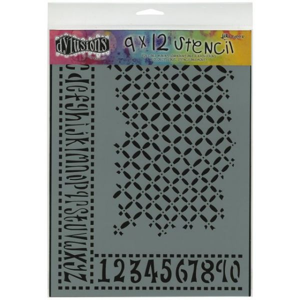 "Dyan Reaveley's Dylusions Stencils 9""X12"""