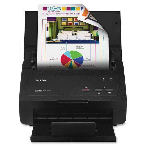 Brother ImageCenter ™ ADS2000E Document Scanner - Duplex
