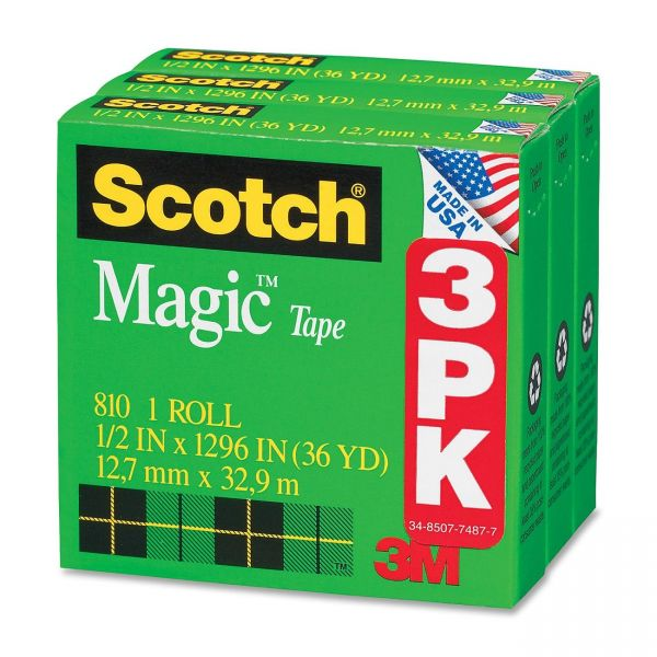 """Scotch 1/2"""" Magic Tape Refills"""