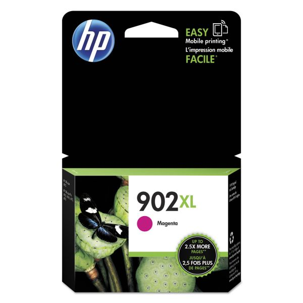 HP 902XL High-Yield Magenta Ink Cartridge (T6M06AN)