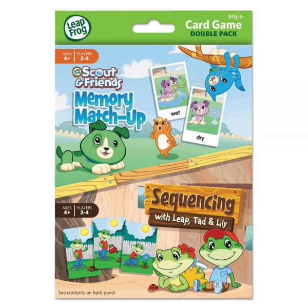 LeapFrog Card Game Double Pack
