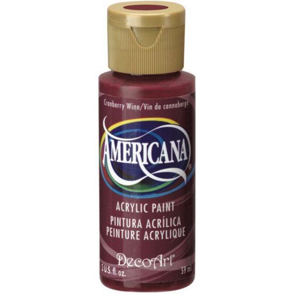 Deco Art Americana Cranberry Wine Acrylic Paint
