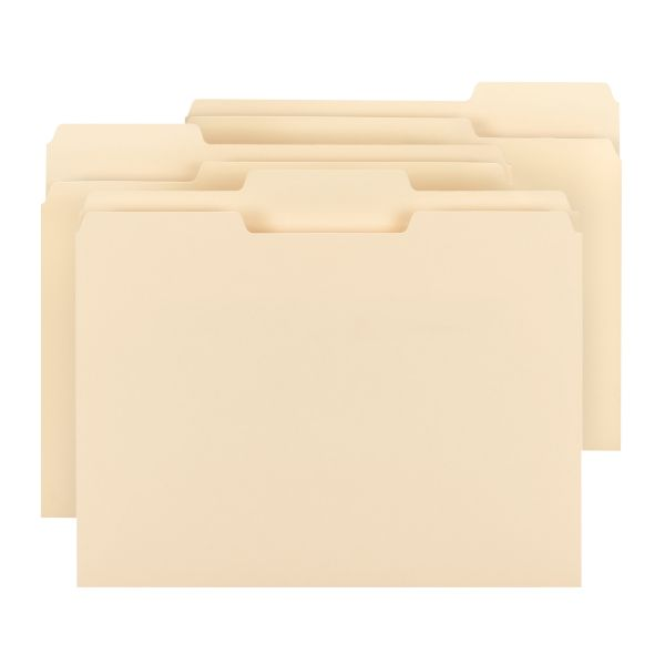 Smead CutLess Manila File Folders