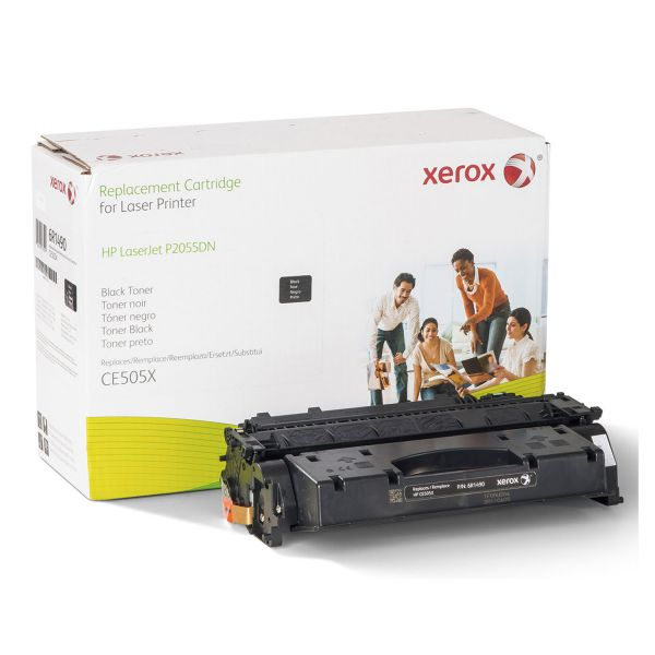 Xerox 006R01490 Replacement High-Yield Toner for CE505X (05X), Black