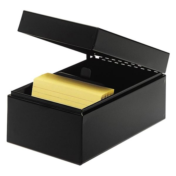 MMF All-Steel Card File Box