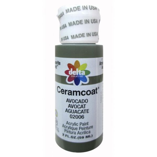 Ceramcoat Avacado Acrylic Paint