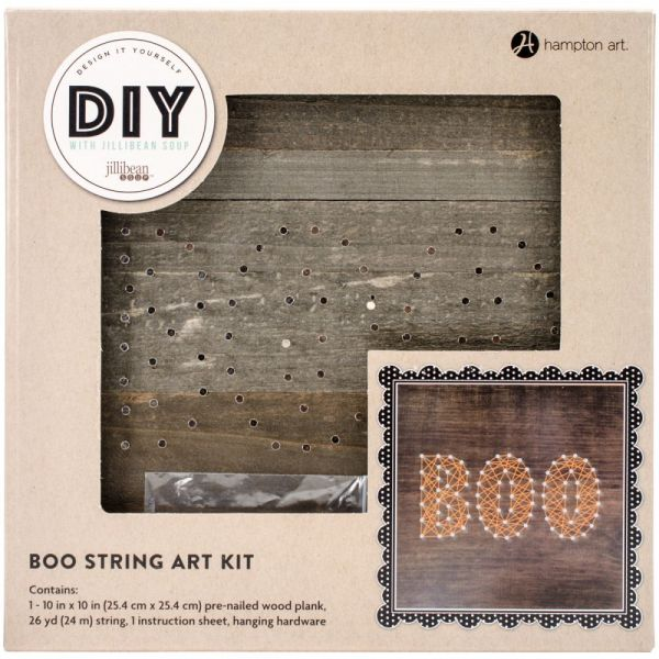"String Art Kit 10""X10""X.5"""