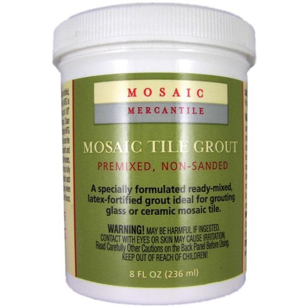 Mosaic Tile Grout 8oz