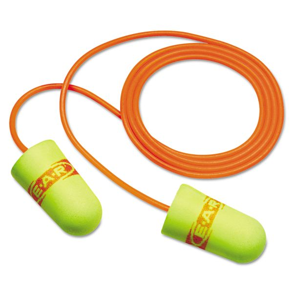 E-A-R Corded Foam Earplugs