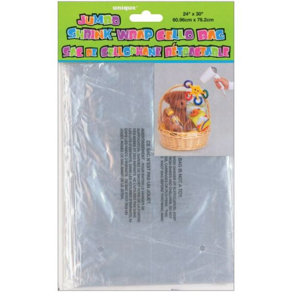 Jumbo Shrink Wrap Cellophane Bag