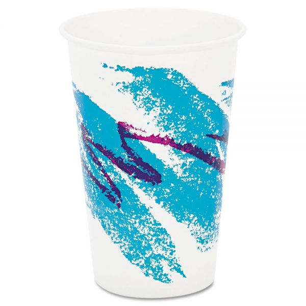 SOLO 16 oz Waxed Paper Cold Cups