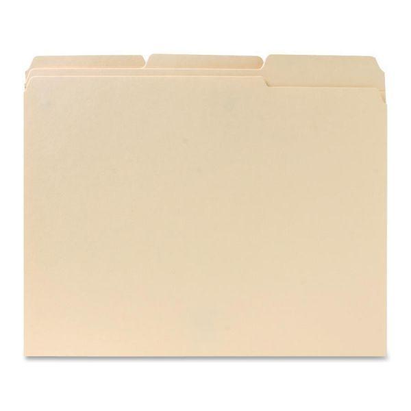 Two-Ply Manila File Folders