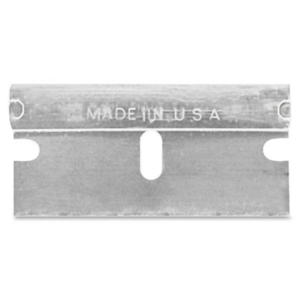SHEFFIELD Single edge safety blades, 10/pk