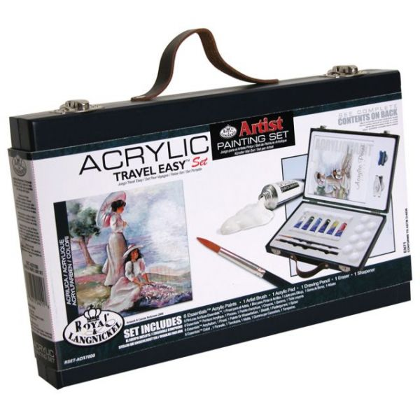 Acrylic Travel Easy Artist Sets