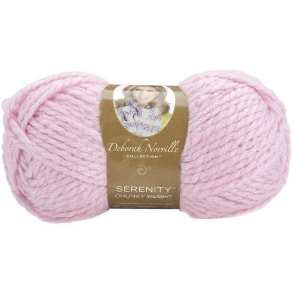 Deborah Norville Collection Serenity Chunky Yarn - Lilac Chiffon
