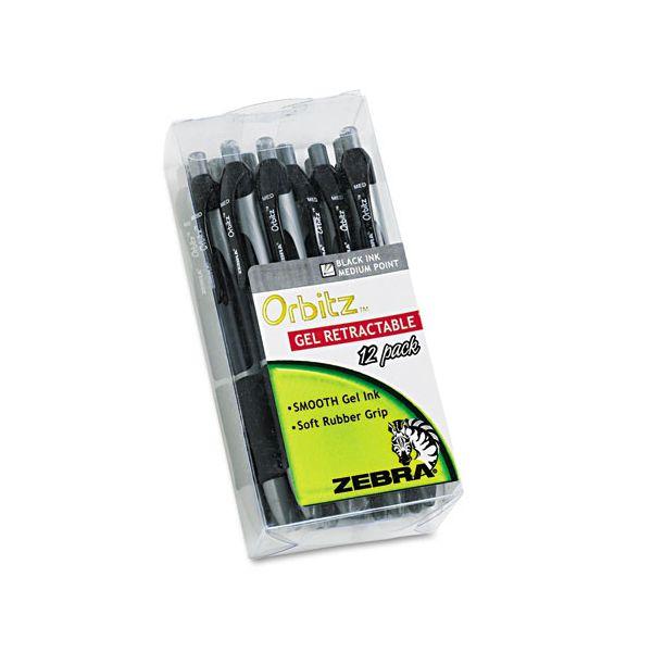 Zebra Pen Orbitz Retractable Gel Pens