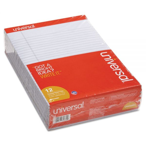 Universal Colored Letter-Size Legal Pads