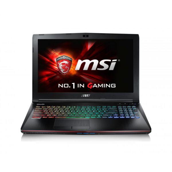 "MSI GE62 Apache Pro 15.6"" Gaming Laptop Intel Core i7-6700HQ GTX1060 12GB DDR4 128GB SSD +1TB Steel Series Keyboard Win10 VR Ready"