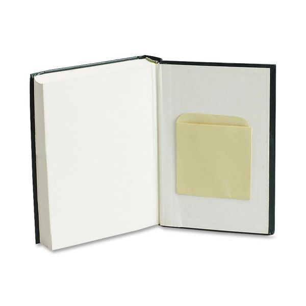 Quality Park Library Book Card Pockets with Ungummed Backs, Cameo Buff, 250/Box