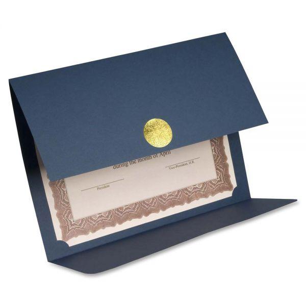 First Base Medallion Linen Certificate Holder