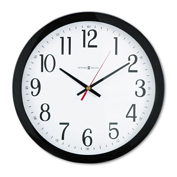 Howard Miller Gallery Black Wall Clock