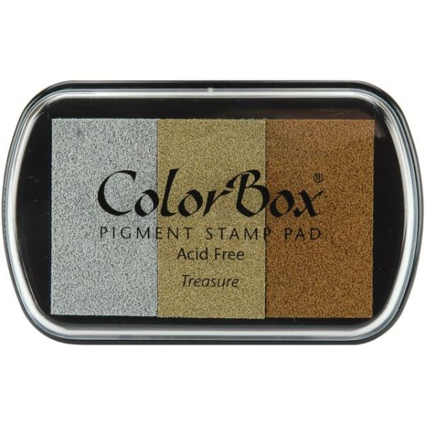 ColorBox Metallic Pigment Ink Pad 3 Colors