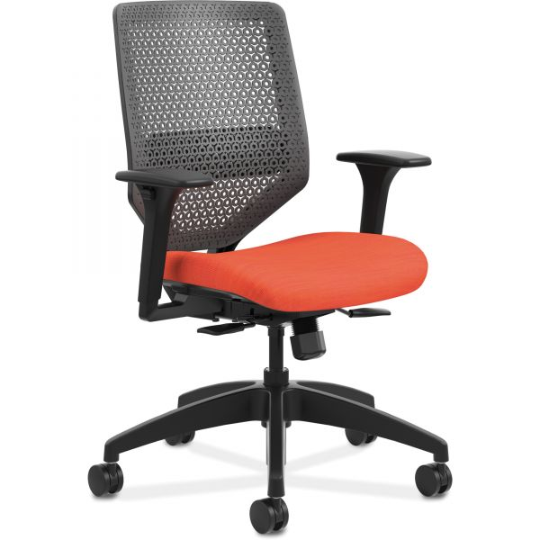 HON Solve Seating Charcoal Back Task Chair