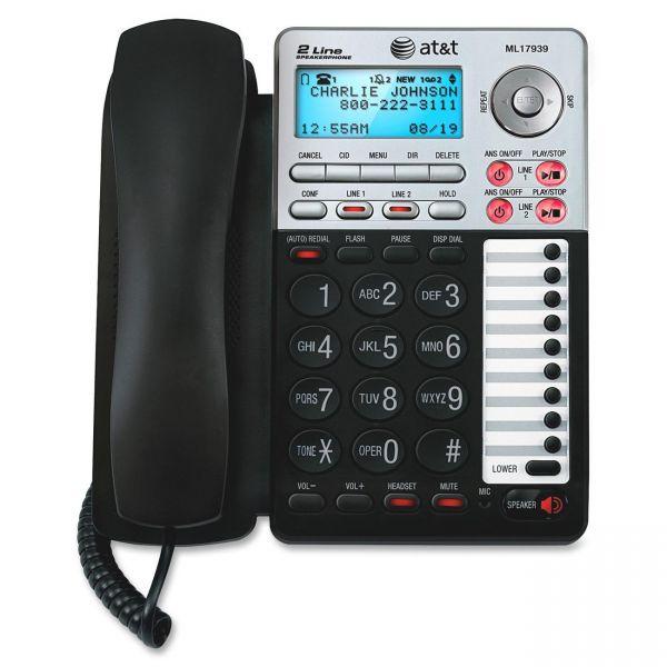VTech ML17939 Standard Phone - Black