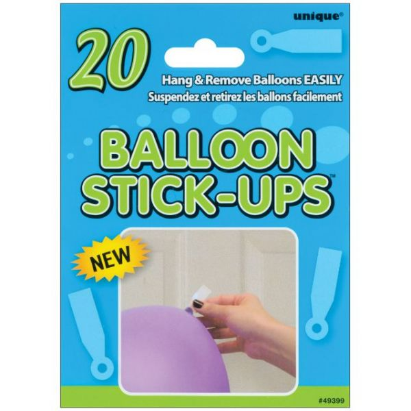 Balloon Stick-Ups 20/Pkg