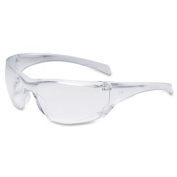 3M Virtua AP Protective Eyewear, Clear Frame and Anti-Fog Lens, 20/Carton