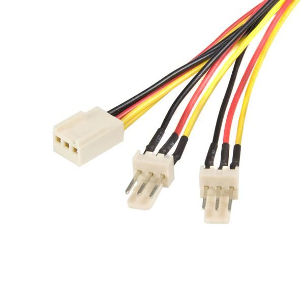 StarTech.com Splitter cable - TX3 fan power - 12in