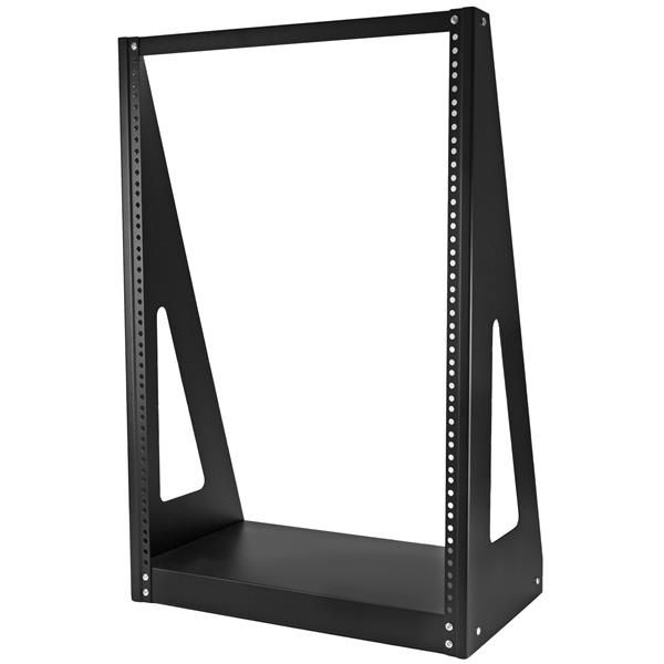 StarTech.com Heavy Duty 2-Post Rack - Open-Frame Server Rack - 16U