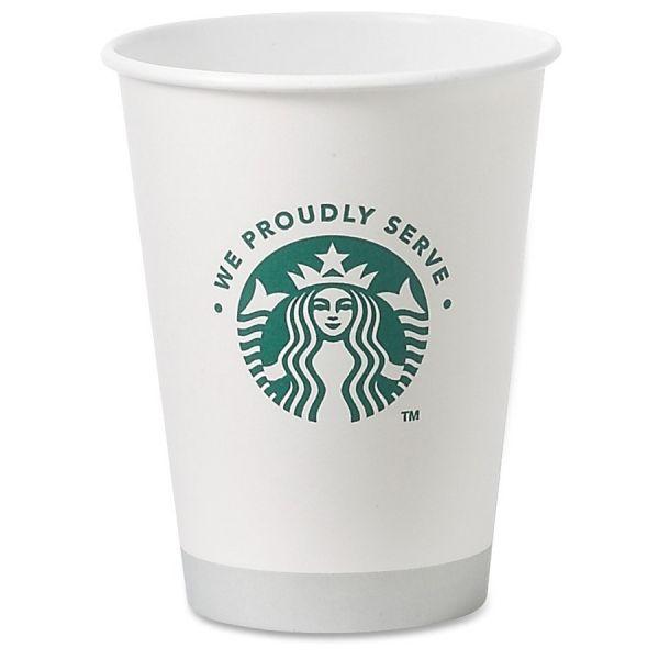 Starbucks 12 oz Paper Coffee Cups