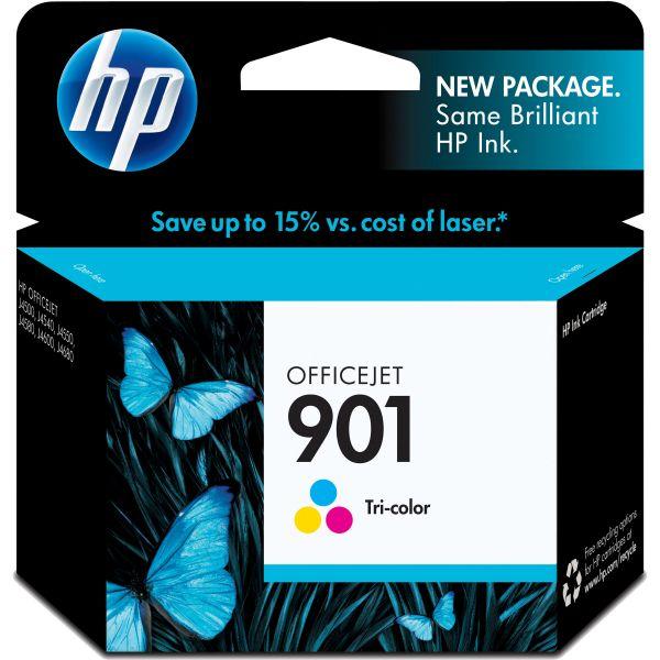 HP 901 Tri-Color Ink Cartridge (CC656AN)