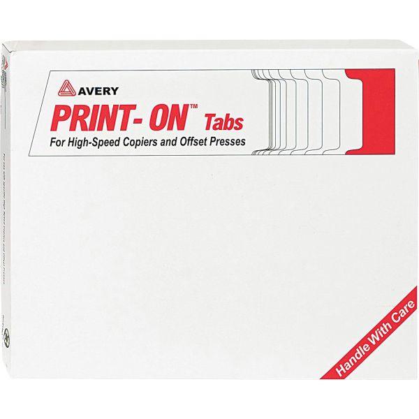 Avery Print-On 5-Tab Copier Tabs