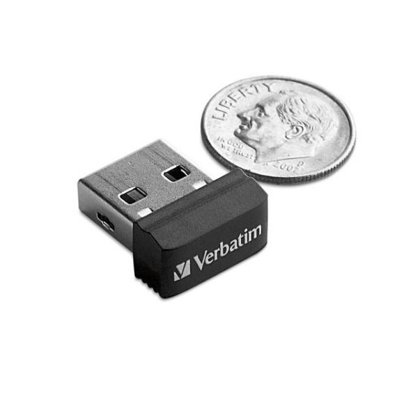 Verbatim 64GB Store 'n' Stay Nano USB Flash Drive