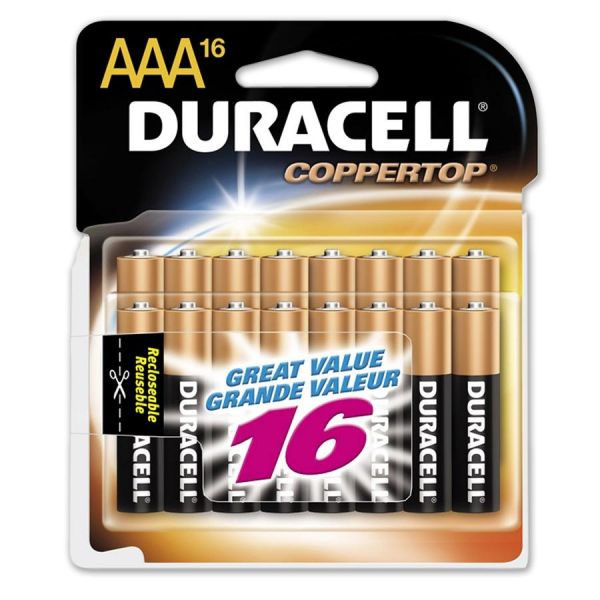 Duracell CopperTop AAA Batteries