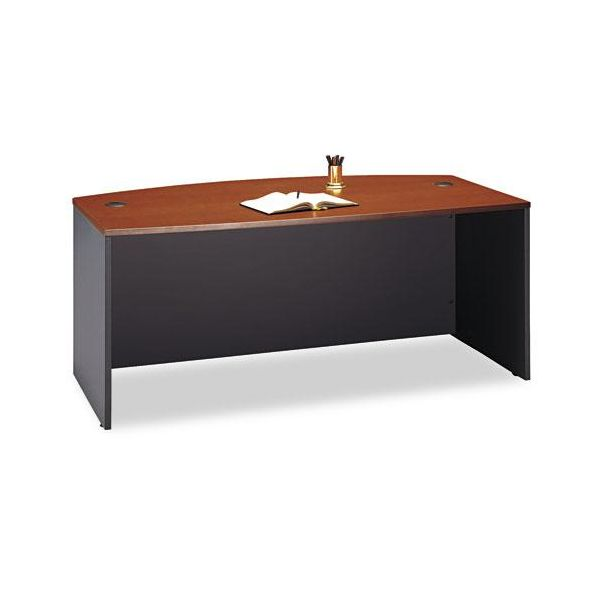 Corsa 2000 Bow Front Desk by Bush Furniture