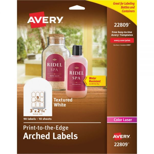 Avery Multipurpose Arched Labels