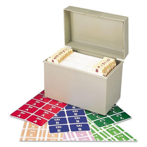 Smead Alpha-Z Color-Coded Second Letter Labels Starter Set, A-Z, 2200/Box