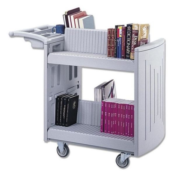Safco Molded Book Cart