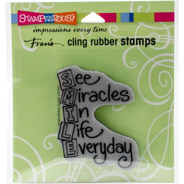 "Stampendous Cling Stamp 4.75""X4.5"""