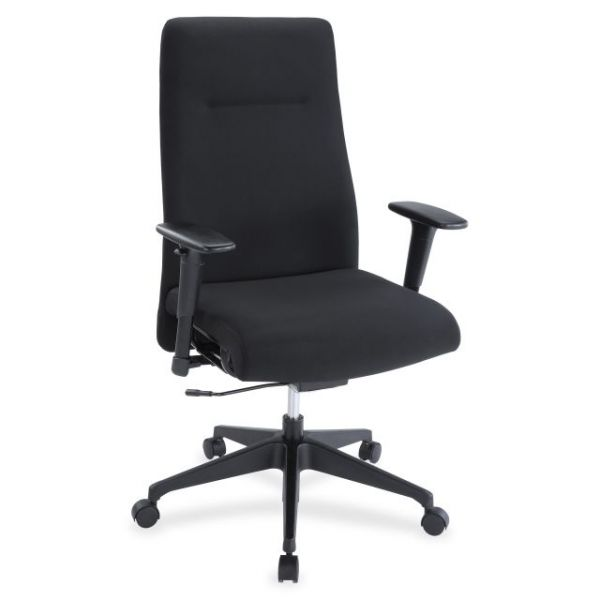 Lorell Weight Activated High-Back Suspension Office Chair