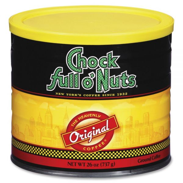 Office Snax Chock Full O'Nuts Original Coffee