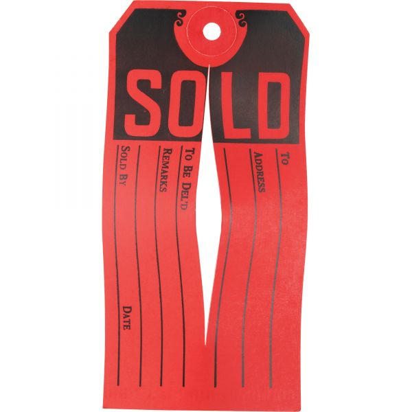 Avery Sold Tags