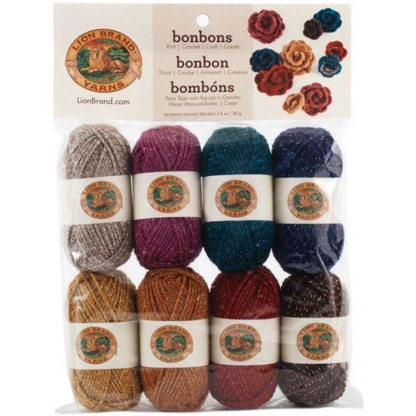 Lion Brand Bonbons Yarn