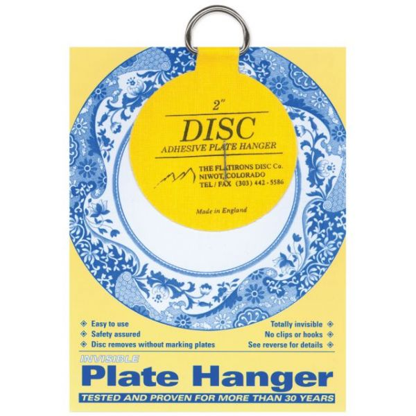 Invisible Plate Hanger 2""